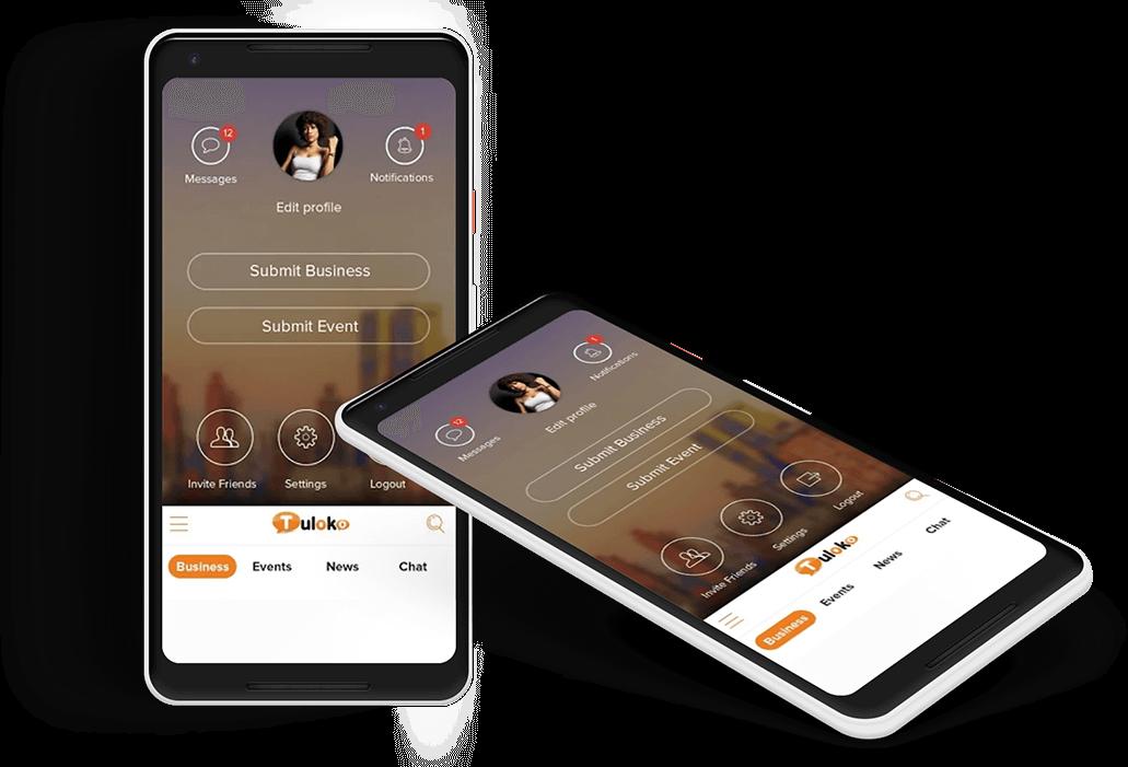 Andoid App Screenshot developed by MyWebApp Software and Analytics