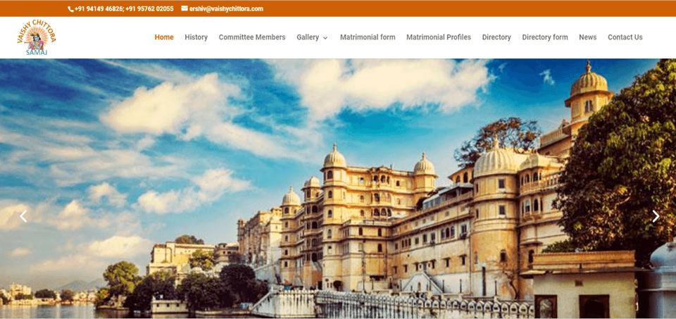Vaishya Samaj  Digital  Project Developed By MyWebApp Software And Analytics,, Providing Software Development, Website Development And Android Development Services in kota City Rajasthan