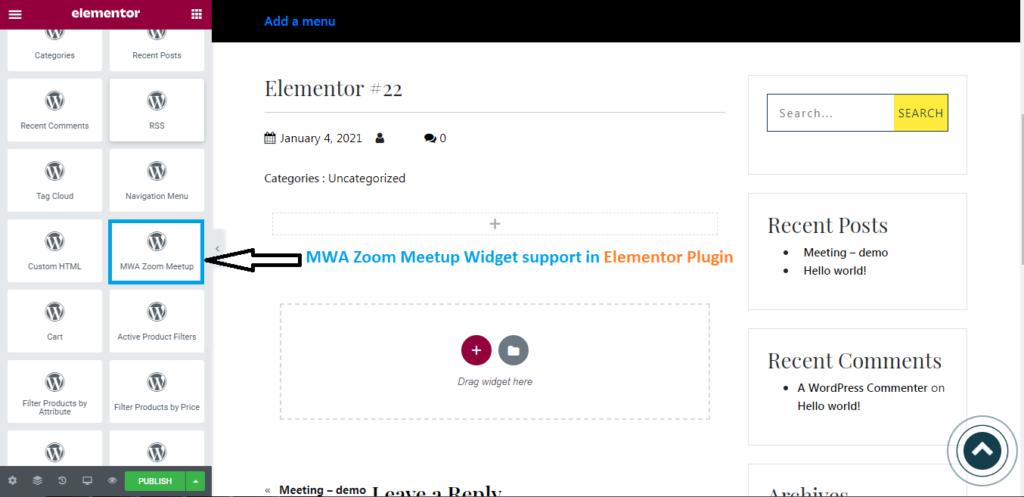 Elementor Support